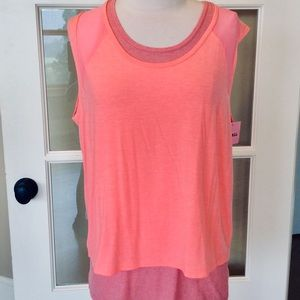 Coral tank Womens Small Top New